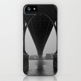 Williamsburg Bridge Underbelly iPhone Case