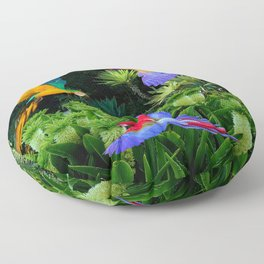 Jungle Paradise Floor Pillow