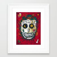 tequila Framed Art Prints featuring Tequila by Jorge Garza