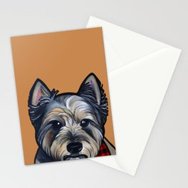 Rigoletto the cairn terrier Stationery Cards