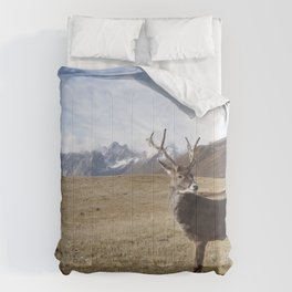 Caribou On The Tundra Comforters