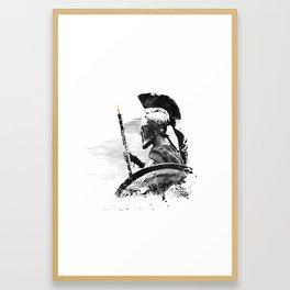 Oboe Warrior Framed Art Print