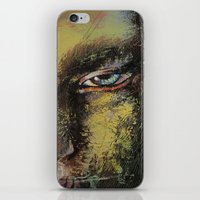 shiva iPhone & iPod Skins featuring Shiva by Michael Creese