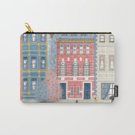 Walking down the street in New York City` Carry-All Pouch