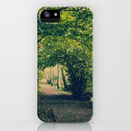 Precious Autumn  iPhone Case