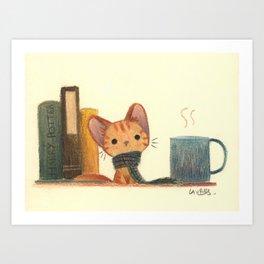 Ginger cat Kunstdrucke
