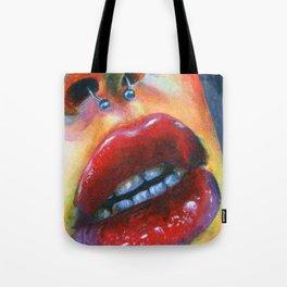 Lips study #4 Tote Bag