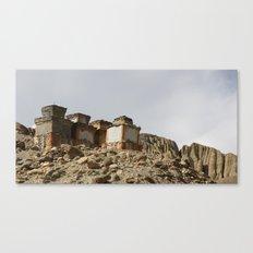 Ancient Chortens Canvas Print