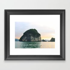 Halong Bay Framed Art Print