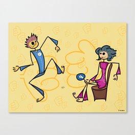 Like or dislike Canvas Print