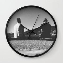High Skates Wall Clock
