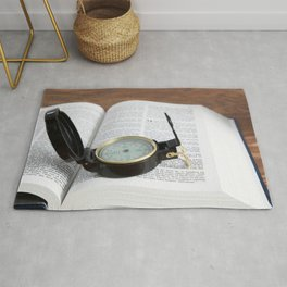 Finding Direction Rug