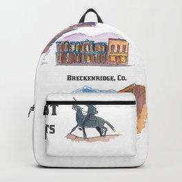 USA Wild West Towns Main Streets - Telluride, Breckenridge, Aspen & Co. Backpack