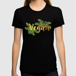 Tropical Vegan with Pineapples T-shirt