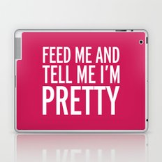 Feed Me Funny Quote Laptop & iPad Skin