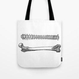 Femur spinal Tote Bag