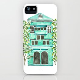 The Grotto – Mint Palette iPhone Case