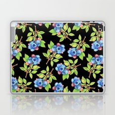 Wild Blueberry Sprigs Laptop & iPad Skin