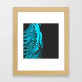 Weird Abstraction Framed Art Print