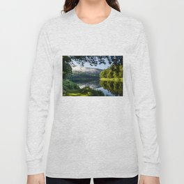 The River's Reflection Long Sleeve T-shirt