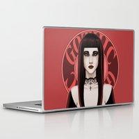 gothic Laptop & iPad Skins featuring Gothic by DarkElve