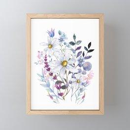 Wildflowers V Framed Mini Art Print