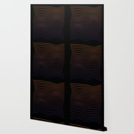 Colorful Minimal Wave Wallpaper