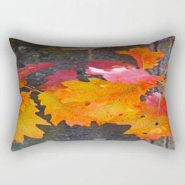 glowing autumn Rectangular Pillow
