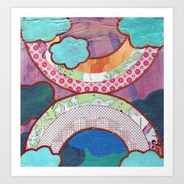 Double Ranbow Art Print