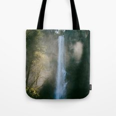 Enchanted Forest Waterfall Tote Bag