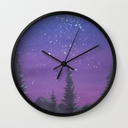 Counting the Stars Wall Clock
