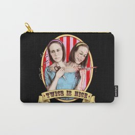 Tattler Twins (color) Carry-All Pouch