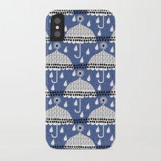 rainy days Slim Case iPhone X