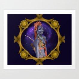 Sagittarius Art Print