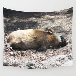 Red River Hog Wall Tapestry