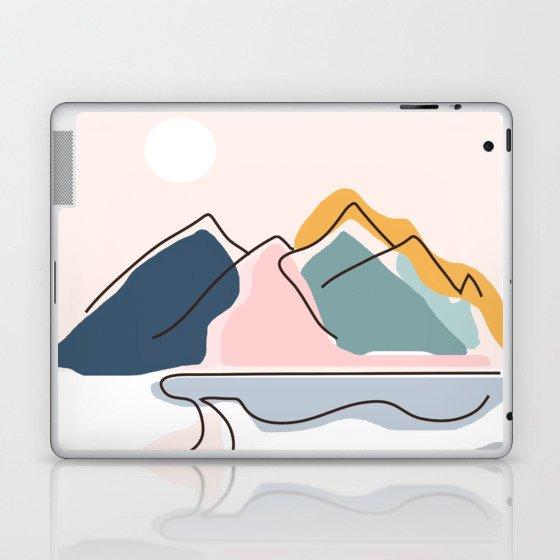 Minimalistic Landscape Laptop & iPad Skin