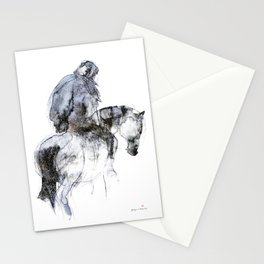 Horse (Winter Rider) Stationery Cards