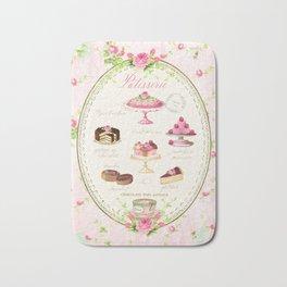 Pink Patisserie Rose Bath Mat
