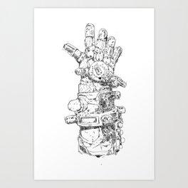 power glove Art Print