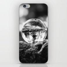 LIFE IN MONO - The glass ball iPhone & iPod Skin