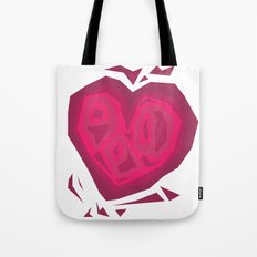 Chiselled  Heart Tote Bag