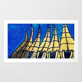 Huanchaco Art Print