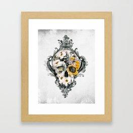 Skull Still Life Framed Art Print