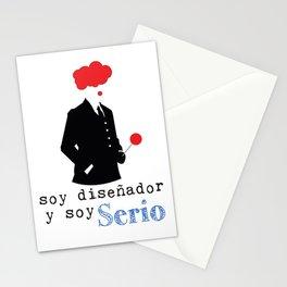 Diseñdor serio Stationery Cards