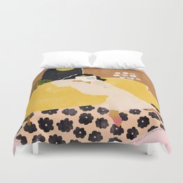 Big Things Are Coming My Way Duvet Cover