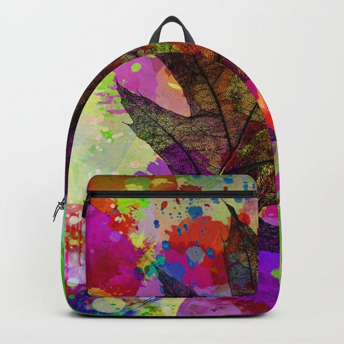 Splash leaf Backpack