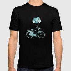 Bike Mono Black Mens Fitted Tee MEDIUM