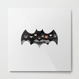 Who is the Bat? Metal Print