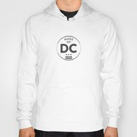 washington dc Hoodies featuring Made of DC (Washington DC) by Patrick Hills