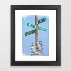 Springstreets Framed Art Print